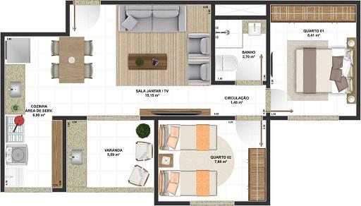 Porfírio Residencial Guarulhos preço planta apartamentos