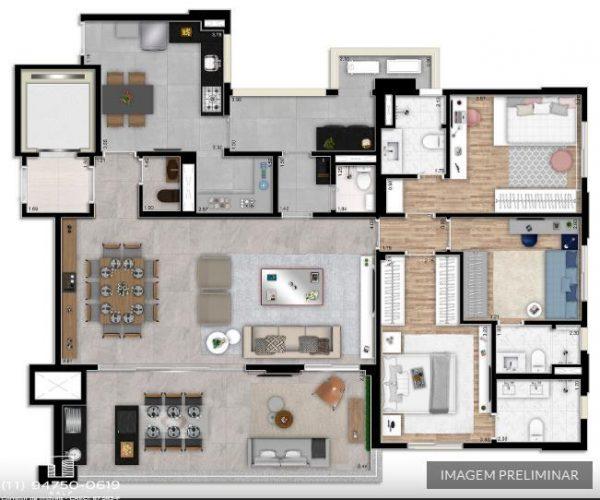 Apartamentos Arariba Regente Feijo   Em São Paulo SP