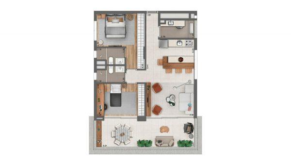 Nord Jardins apartamentos Nortis Construtora – Preço