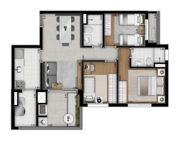 Modo Saúde Even Construtora – Preço Planta Apartamentos