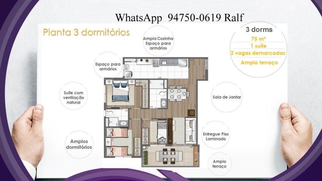 Apartamento na planta em Guarulhos