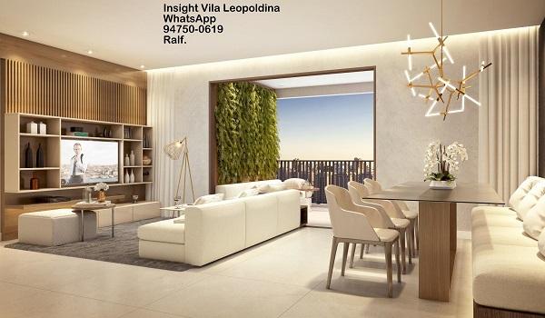 Condomínio Insight Vila Leopoldina apartamento setin