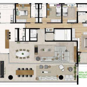 Altto Vila Madalena apartamento