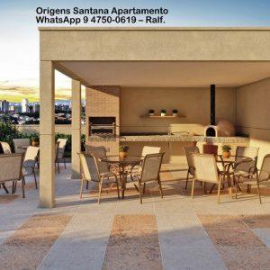 Origens Santana Preço – Tibério Empreendimento apartamento Planta Condomínio
