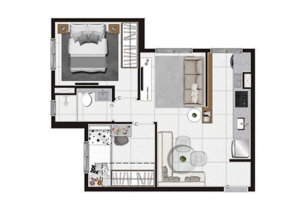 We Cachoeirinha Econ apartamento – Preço Entrega Planta