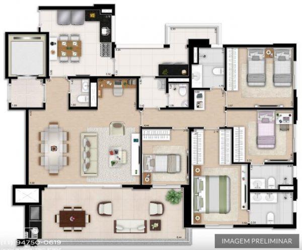 Apartamentos Arariba Regente Feijo | Em São Paulo SP