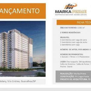 Marka Prime Guarulhos Apartamento Vila Endres | Empreendimento