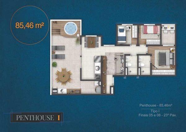 Terraço Vila Matilde Graal Construtora Apartamento