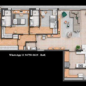 Esquina Pinheiros apartamentos – 2 e 3 dormitórios Nortis