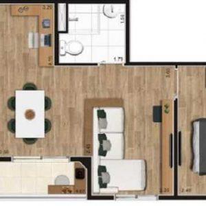 Apartamentos Flap Guarulhos Econ – Decorado, Plantas, Valor