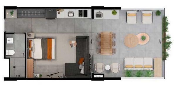 Artem Valor Porte Construtora – Analia Franco Apartamento
