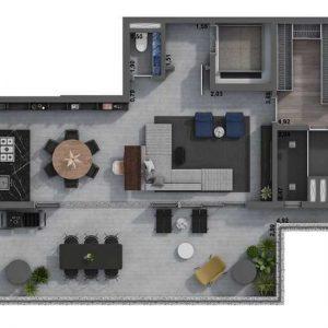 Apartamento Zona Oeste SP na Planta Pinheiros | Alto Padrão
