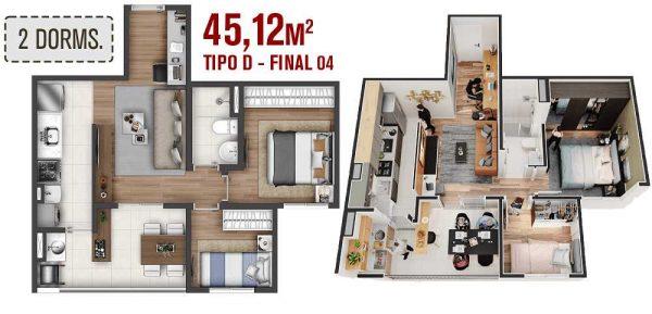 Apartamento Vila Matilde na Planta – Lançamento – Preço